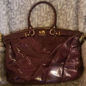 Vintage purple Coach bag